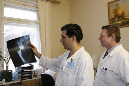 Отделение ортопедии ЦКГ ФТС